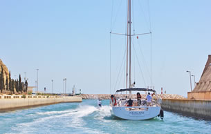 Sailing course holidays in Albufeira, Portugal